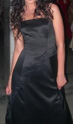 Вечернее платье на выпусконой