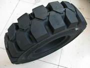 Цельно-литые шины из Китая 600-9,  700-12,  650-10,  8.25-15,  8.15-15