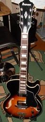 Гитара полуакустическая IBANEZ AG75-BS (новая,  на гарантии)