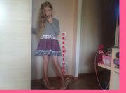 Продам шикарное платье для девочки пр.Италия, De Salitto.