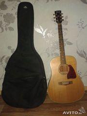 Акустическая гитара ibanez + чехол