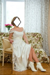 Свадебное/вечернее/выпускной платье в греческом стиле,  стиле ампир