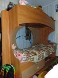 Продам двухъярусную  кровать. Б/У. 10 000. ТОРГ