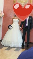Продам нежное пышное свадебное платье