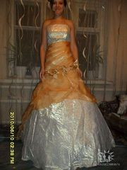 Продам в г.Барнаул вечернее платье б/у